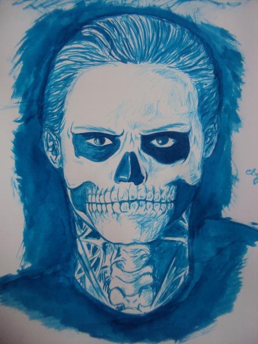 Evan Peters by ely1605